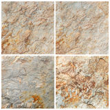 Insieme di fondo di pietra e di struttura (di alta risoluzione) Fotografie Stock
