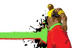 Insieme di Gangsta. Immagini Stock Libere da Diritti