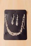 Insieme di gioielli sulla Tabella Fotografia Stock Libera da Diritti