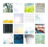 Insieme di immagine degli ambiti di provenienza differenti immagine stock