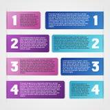 Insieme di infographics di vettore Immagine Stock Libera da Diritti