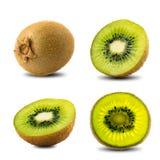 Insieme di Kiwi Fruit Immagini Stock