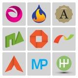 Insieme di logo di vettore di alta qualità Immagine Stock Libera da Diritti