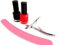 Insieme di manicure Fotografia Stock Libera da Diritti