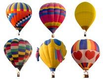 Insieme di multi mongolfiera variopinta di colori Immagine Stock Libera da Diritti