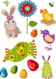 Insieme di Pasqua illustrazione di stock