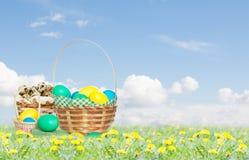 Insieme di Pasqua Fotografia Stock