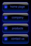 Insieme di percorso di Web Fotografie Stock Libere da Diritti