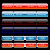Insieme di percorso di Web Fotografia Stock