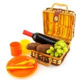 Insieme di picnic Fotografie Stock