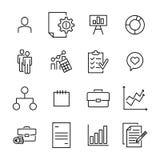 Insieme di premio delle icone della linea di business Immagine Stock Libera da Diritti