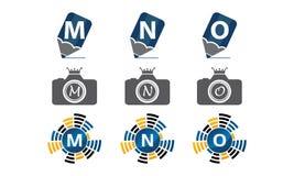 Insieme di progettazione del modello del Logotype Immagine Stock Libera da Diritti