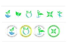 Insieme di progettazione rotonda di vettore di simbolo dell'icona illustrazione vettoriale