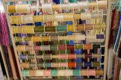 Insieme di Rolls del filo colotful immagine stock
