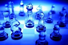 Insieme di scacchi Fotografia Stock