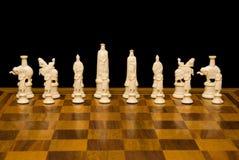 Insieme di scacchi immagine stock libera da diritti