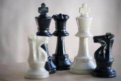 Insieme di scacchi Immagini Stock Libere da Diritti