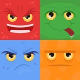 Insieme di scarabocchio di vettore delle emozioni illustrazione vettoriale