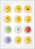 Insieme di sorriso Fotografia Stock