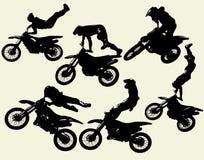 Insieme di stile libero di Moto Fotografia Stock