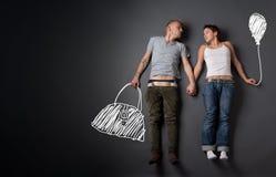 Insieme di storia di amore. tutte le immagini in questa serie, vedono la mia cartella Immagine Stock Libera da Diritti
