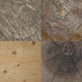 Insieme di struttura di legno Fotografia Stock Libera da Diritti