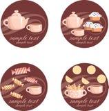 Insieme di tè. royalty illustrazione gratis