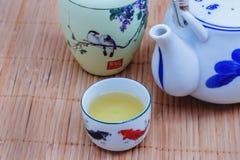 Insieme di tè antico Fotografie Stock