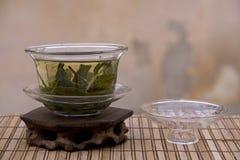 Insieme di tè cinese immagini stock libere da diritti