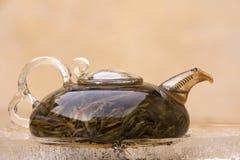 Insieme di tè del cinese tradizionale immagine stock