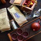 Insieme di tè della Cina Fotografie Stock