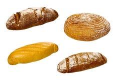 Insieme di vari pani e prodotti di pasticceria Immagine Stock Libera da Diritti