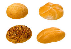 Insieme di vari pani e prodotti di pasticceria immagine stock