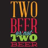 Insieme di vettore delle citazioni stilizzate sull'argomento di birra Testo di colore su un fondo nero royalty illustrazione gratis