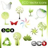 Insieme di vettore di ECO Immagine Stock