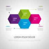 Insieme e Infographics dell'icona Immagine Stock