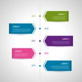 Insieme e Infographics dell'icona Fotografie Stock Libere da Diritti