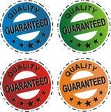 Insieme garantito qualità Immagine Stock Libera da Diritti