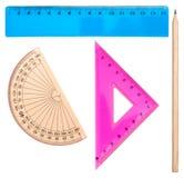 Insieme geometrico Immagine Stock Libera da Diritti