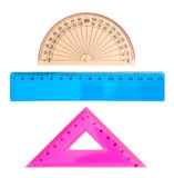 Insieme geometrico fotografia stock