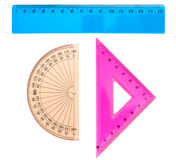 Insieme geometrico immagine stock