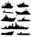 Insieme navale Fotografia Stock