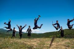 Insieme nazionale di ballo e di canzone di Georgia Erisioni Immagine Stock Libera da Diritti