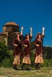 Insieme nazionale di ballo e di canzone di Georgia Erisioni Fotografia Stock