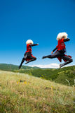 Insieme nazionale di ballo e di canzone di Georgia Erisioni Immagine Stock