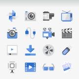 Insieme piano creativo dell'icona Immagine Stock Libera da Diritti