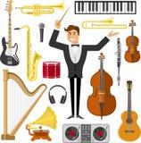 Insieme piano dell'icona di musica royalty illustrazione gratis