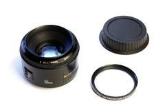 Insieme principale della lente, 50mm   Immagini Stock Libere da Diritti