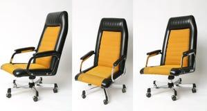Insieme progettazione della sedia dell'ufficio di vecchia Fotografia Stock Libera da Diritti