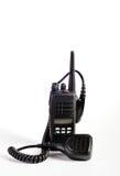 Insieme radiofonico portatile professionale compatto nero. Immagini Stock Libere da Diritti